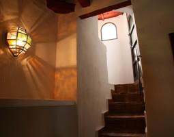 escalera terraza dormitorio-suite