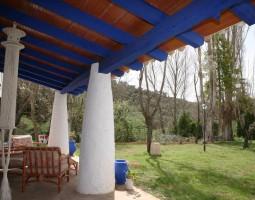 Jardín desde el porche