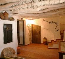 salón acceso-cocina manchega